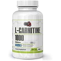 Preisvergleich für Pure Nutrition L CARNITIN Kapseln Hochdosiert 1000mg|Gewichtsreduzierung Abnehmen Fettverbrennung Fatburner Definitionsphase...