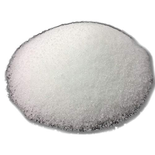 Der Perlenspieler® - Wachsgranulat zum Kerzengießen und Nachfüllen von Schmelzfackeln - sehr feine Körnung, reines Paraffin - Weiß - 1 kg -