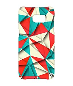 Vogueshell Triangle Pattern Printed Symmetry PRO Series Hard Back Case for Samsung s7 Edge