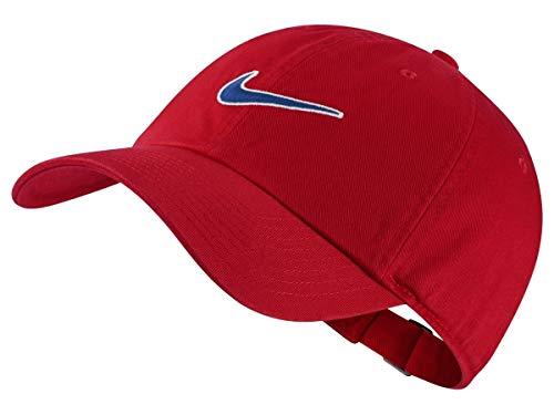 Nike U NK H86 Cap Essential SWSH Chapeau Mixte Adulte, University Red/Indigo Force, FR Unique...
