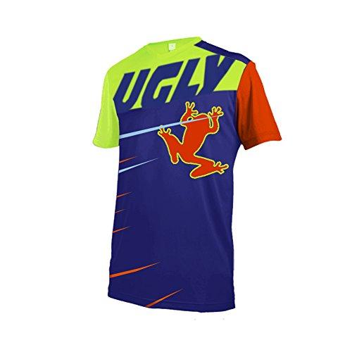 Uglyfrog Herren Outdoor Sport MTB Fahrradbekleidung Fahrradtrikot Radsport Kurzarmtrikot Radfahren Trikot Sommer Downhill Jersey -