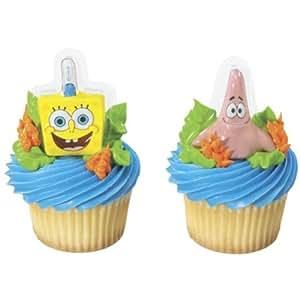 6x spongebob patrick cupcake topper muffin dekoration - Dekoration muffins ...