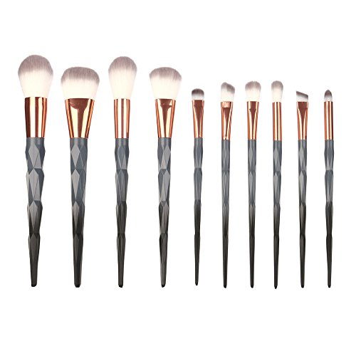 10Pcs Make-Up Pinsel Set Foundation Eyebrow Eyeliner Pinsel kosmetische Concealer Pinsel Set heißer Verkauf