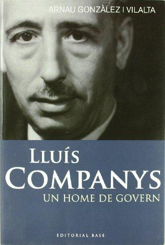 Lluís Companys por Arnau Gonzàlez i Vilalta