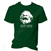 Karl Marx Without A Beard Youre Nothing T Shirt Social Scientist Philosopher