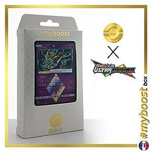 Giratina 58/156 Holo Prisma - #myboost X Soleil & Lune 5 Ultra-Prisme - Box de 10 Cartas Pokémon Francés