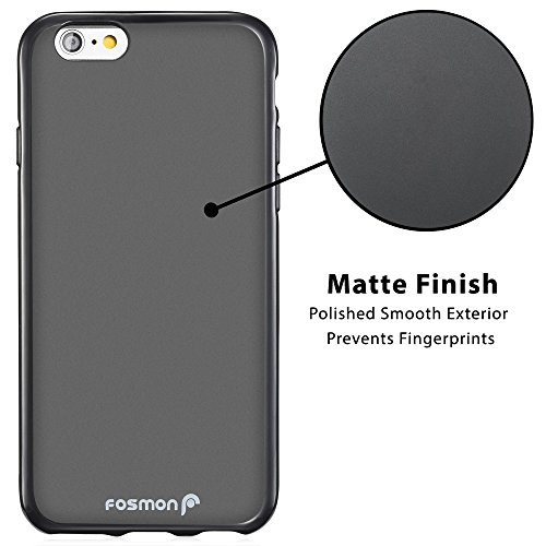 """Apple iPhone 6 Plus (5.5"""") coque - Fosmon [DURA-FRO] Slim Fit flexibles TPU Housse couverture en pour Apple iPhone 6 Plus (5.5"""") - Fosmon conditionnement Rose"""