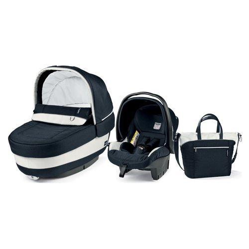Preisvergleich Produktbild Peg Perego Elite– Modulares Babysitz-Komplettset, Farbe: Blue