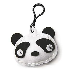 Mammut 163002 - Kit de Costura para niños a Partir de 5 años, diseño de Oso Panda