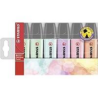 Stabilo Boss Original Pastel - Pack de 6 marcadores