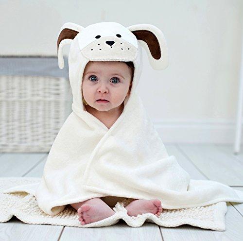 Bathing Bunnies Langohr Welpen Babytuch creme weiß -