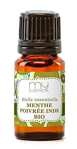 Huile essentielle de Menthe poivrée BIO -