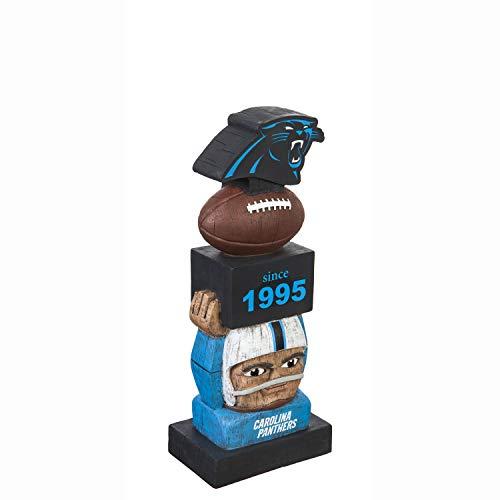 Team Sports America Carolina Panthers Vintage NFL Tiki Totem Statue