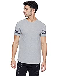 LP Jeans By Louis Philippe Men's Solid Slim Fit T-Shirt - B078HFZSPT