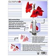 Olympia 9178 Laminierfolien, 125 Mic, DIN A6, 100 Stück