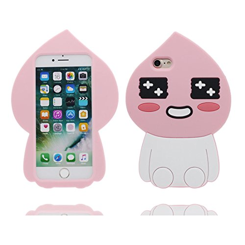 "iPhone 6S Handyhülle, iPhone 6 Hülle Cover 4.7"", 3D Cartoon Bär bear Cute Gel-Shell TPU flexibles Shell iPhone 6S case 4.7"" Staub Kratzer beständig # 1"