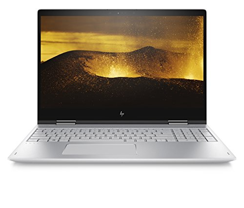 Foto HP ENVY x360 15-bp000nl Notebook Convertibile, Intel Core i5-7200U, 8 GB di DDR4, 256 GB SSD, Scheda Video NVIDIA GeForce 940MX, Argento Naturale [Italia]
