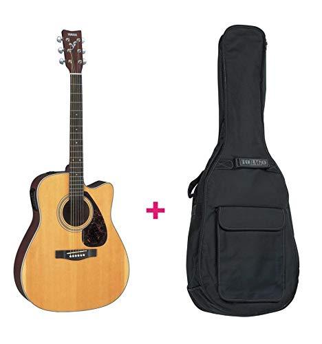 Set Yamaha FX370C-Guitarra aparatos electroacústicos (Funda)