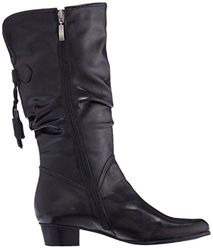 Piazza 970703, Bottes hautes avec doublure froide femme Noir - Noir