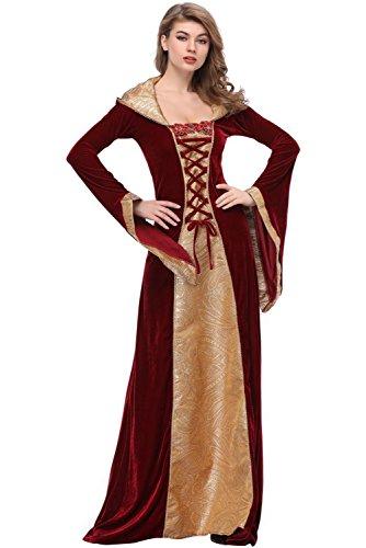 Mittelalter Kostüm mittelalterlichen Adels Palast Prinzessin Kleid Halloween -