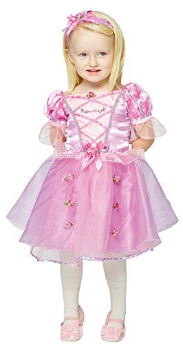 Kleid bis Rapunzel Baby/Kleinkind Kostüm, 2Jahre