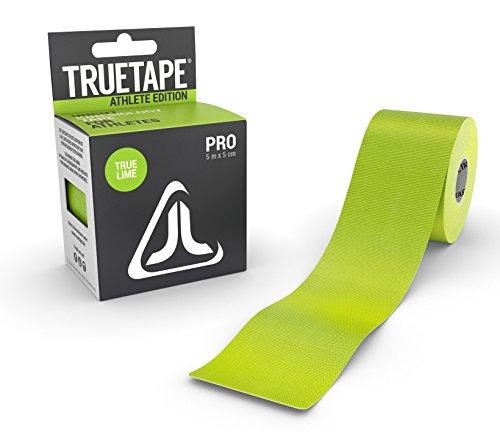 TRUETAPE ATHLETE EDITION PRO | Kinesiologie Tape | 5m x 5cm | ungeschnitten | Grün | CE-Zertifiziert