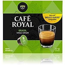 Café Royal Single Origin Brasil 48 cápsulas compatibles con Nescafé* Dolce Gusto* Intensidad: