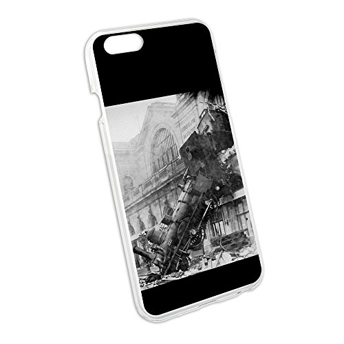 Dampflokomotive Zug-Wrack bei Montparnasse Snap On Hard Case Schutzhülle für Apple iPhone 6