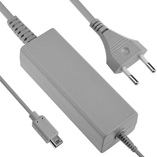 EU prise AC Power adaptateur chargeur câble de charge pour Nintendo Wii U Gamepad (gris)