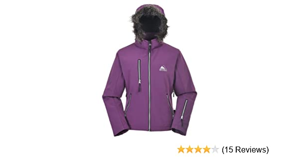 10.000mm breathable 15.000mm water proof Cox Swain 3-layer women outdoor soft shell jacket YUKI
