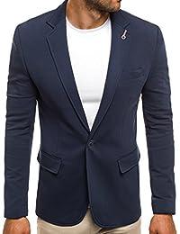 OZONEE Herren Sakko Business Anzug Kurzmantel JEEL 5504J