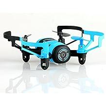 Modo sin Cabeza RC Quadcopter micro drone RTF RC Helicóptero con cámara de 0,3MP, color azul