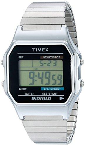 timex-homme-t78587-timex-original-quartz-digitale-noir-et-vert-argent-acier-inoxydable