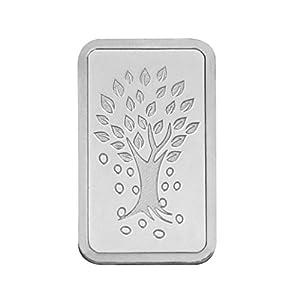 Kundan Silver Kalpataru Tree Precious Coin