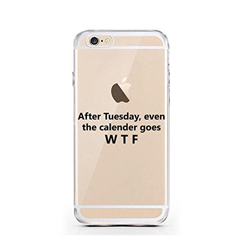 iPhone 5 5S SE cas par licaso® pour le modèle Liberté Égalité Beyoncé Français TPU 5 Apple iPhone 5S silicone ultra-mince Protégez votre iPhone SE est élégant et couverture voiture cadeau Calender goes WTF