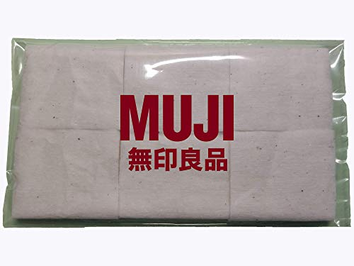 Authentic MUJI Japanese Organic Cotton Pads Unbleached Untreated Wick RBD RDA Tanks (10 pads 50mm x 60mm) by MUJI by Wizard Vapes (Authentic Tank)
