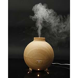 Excelvan Humidificateur Ultrasonique brouillard d'air Grande capacité 500ml Diffuseur d'huiles essentielles pour SPA Salon Chambre Bébé Classe de Yoga Bureau etc