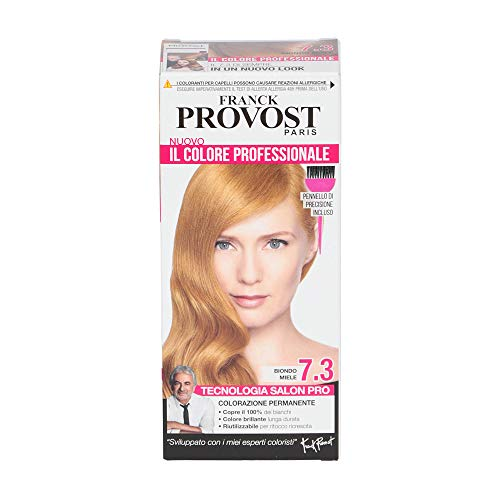 Franck Provost Paris Il Colore Professionale Biondo Miele 7.3, Tinta Per Capelli Permanente