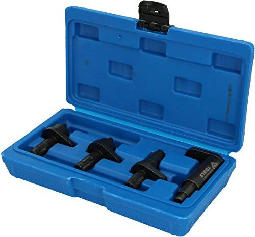 BRILLIANT TOOLS BT597000, VAG, für 1.2 Motor-Einstellwerkzeug-Satz, mit Stabiler Blauer Box, 4-Tlg
