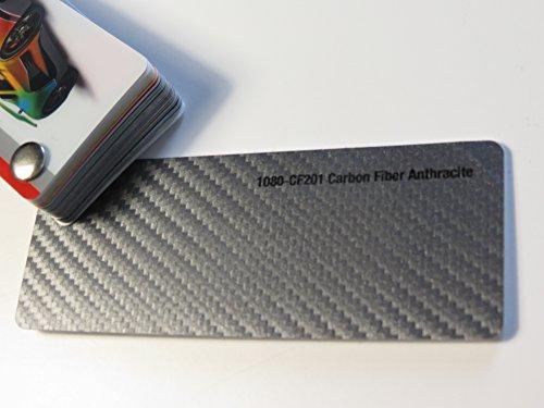 3M Scotchprint Wrap Film Series 1080 Anthrazit 3D Carbon Fibre gegossene Autofolie 100 x 152 cm Zuschnitt