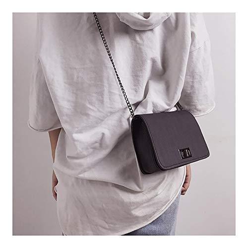 Xyydn Frauen Schultertasche Handtaschen Mädchen Mini Taschen Designer Version Wilde Small Square Messenger Bag Lady Umhängetasche Schultertaschen der Frauen Größe Lange Bügel-Umhängetasche