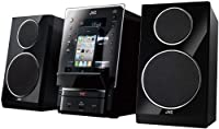 JVC Flip Dock DAB Micro System Speaker for iPhone/iPod/USB/CD Player