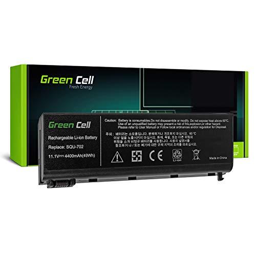 Green Cell® Standard Série SQU-804702SQU-804703LG E510Batterie d'ordinateur Portable pour Packard Bell EasyNote Argo C1C2(6Cellules 4400mAh 11.1V Noir)