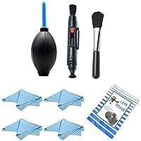 SODIAL(R) Kit de limpieza Cleaning kit para objetivos SLRs DSLRs Canon 7D 60D 50D 40D 30D 650D 600D 550D 500D 450D 400D 350D 300D Panasonic