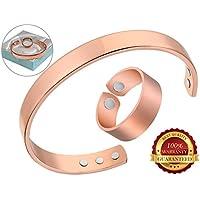 BisLinks® 99.9% Kupfer Magnetic Health Ring Bracelet Armband Für Männer & Frau Extra Strong Magnete (3000 Gauss... preisvergleich bei billige-tabletten.eu