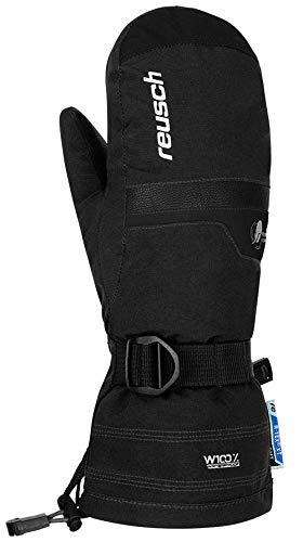 Reusch Jungen Kito R-TEX XT Junior Mitten Handschuhe, Black/White, 4 | 04050205811686
