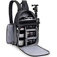 SIDRUM Caden D15-2 Camera Backpack for DSLR Cameras - Anti Shock, Waterproof ,Breathable