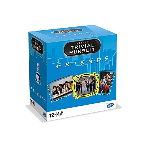Winning Moves- Trivial Pursuit Friends - Juego Preguntas