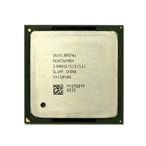 Processeur - 1 x Intel Pentium 4 2.8 GHz ( 533 MHz ) - Socket 478 - L2 512 Ko - OEM
