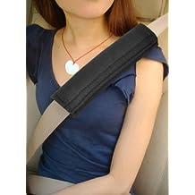 TRIXES Almohadillas para cinturón de seguridad con velcro